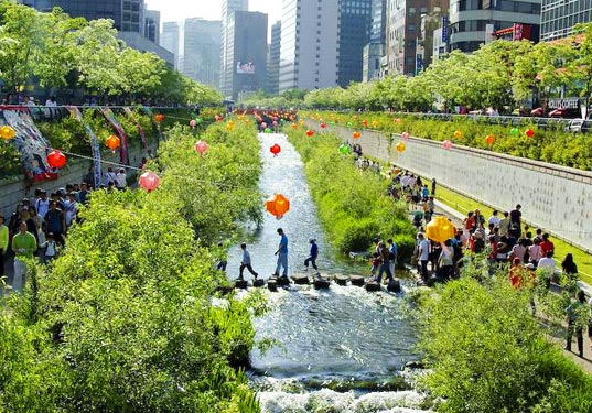 Cheonggyecheon Stream Restoration