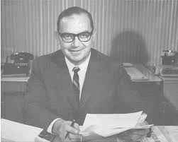 Robert M. White, in 1963, as Chief of the U.S. Weather Bureau